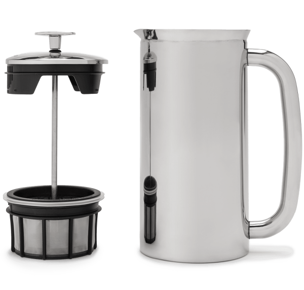 Espro Coffee French Press P7, 32oz, Polished Stainless Steel